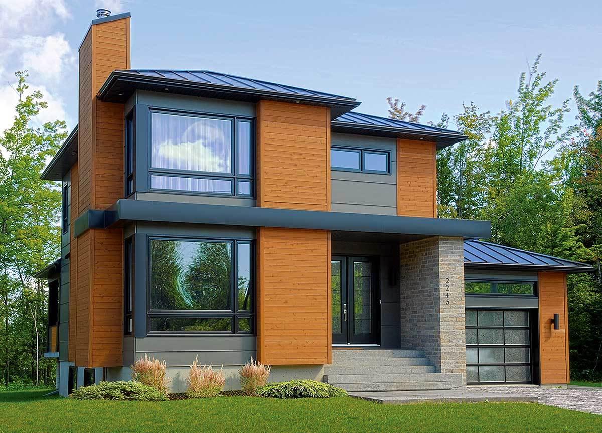 кирпичные дома фото с большими окнами фермеры